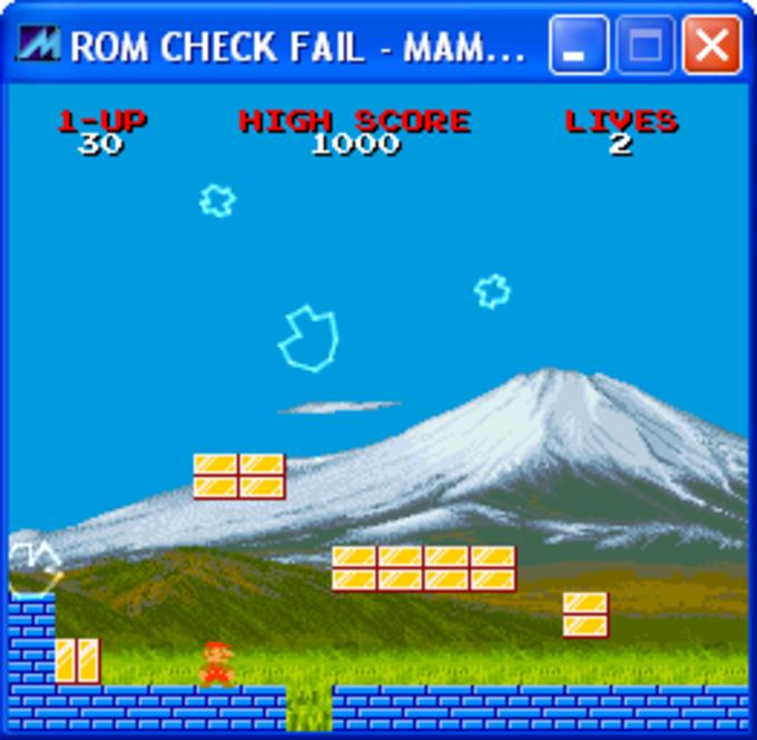 Rom Check Fail