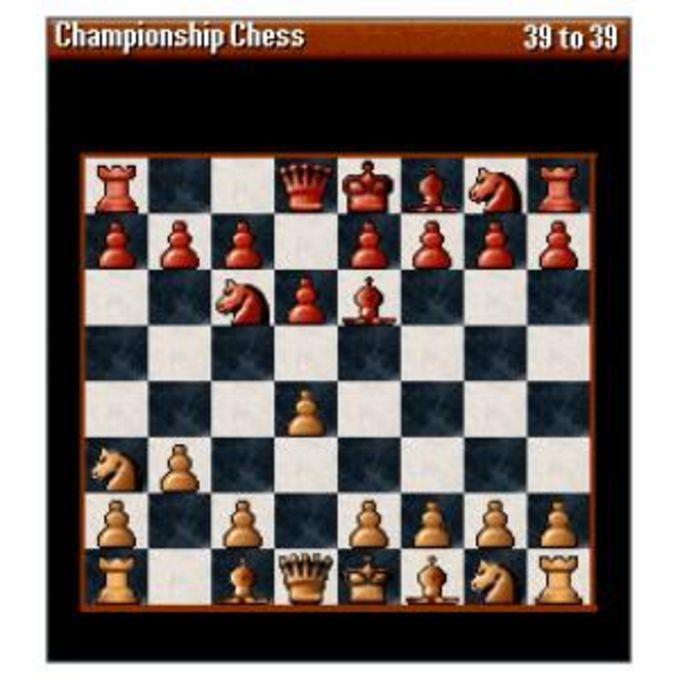 Championship Chess Pro Board Game