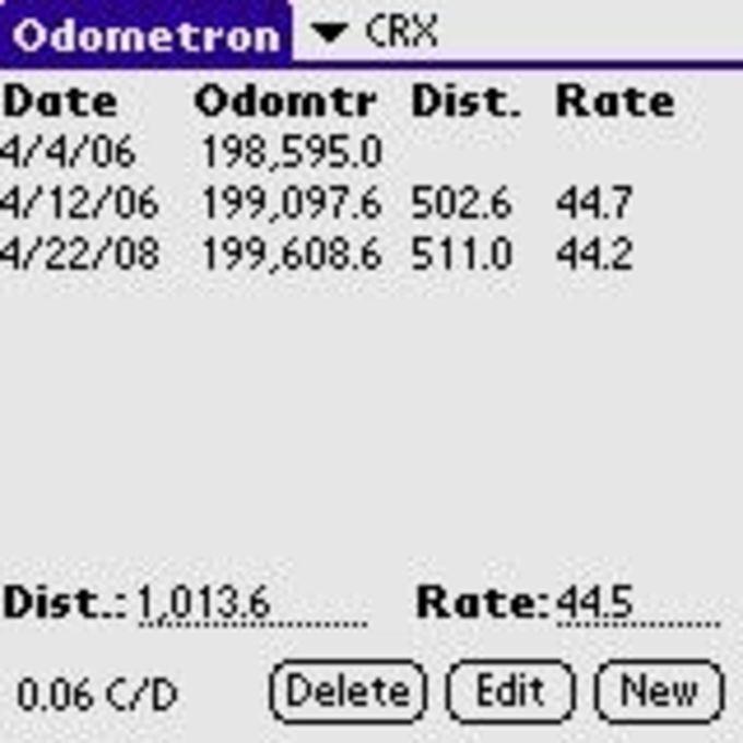 Odometron