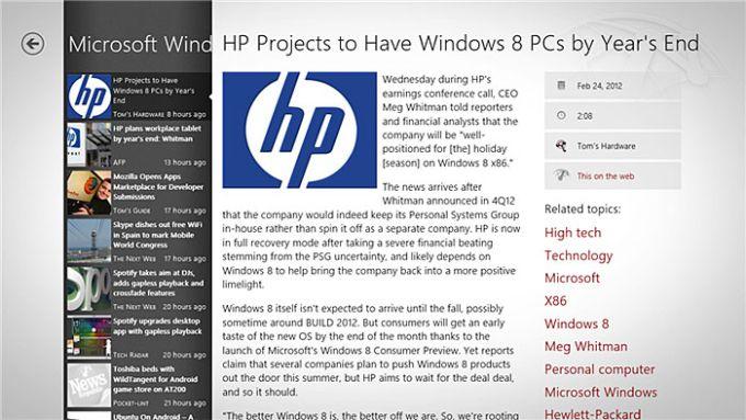 News Republic pour Windows 10