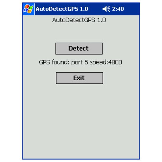 KM GPS AutoDetect