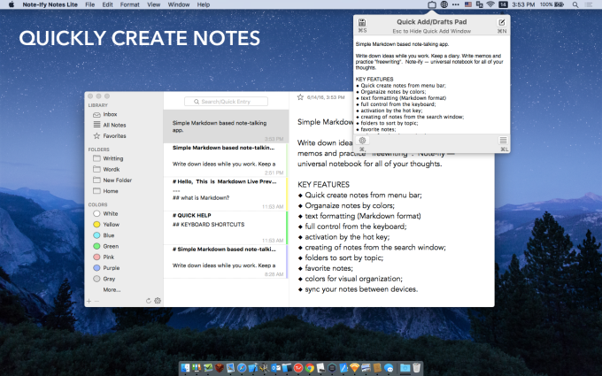 Note-Ify Notes Lite