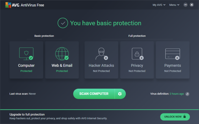 free anti virus software download for pc