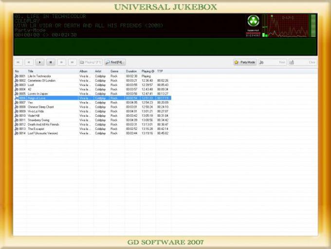 Universal JukeBox