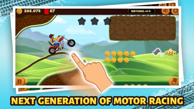 Road Draw Hill Climb Moto Racing