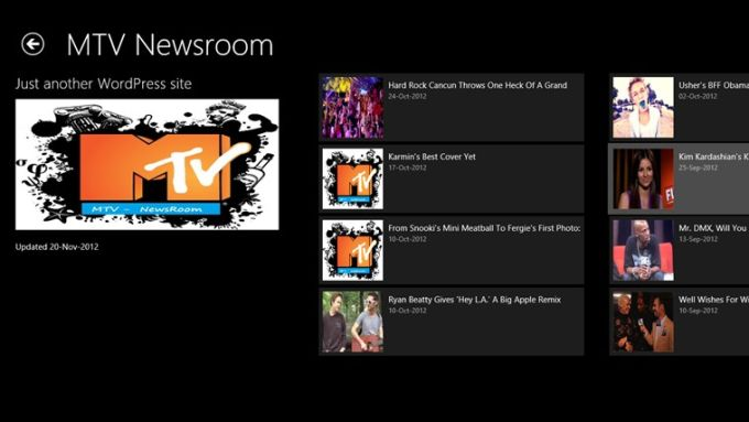 MTV - Public Television RSS for Windows 10
