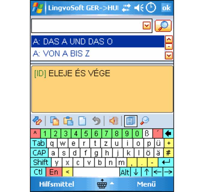 LingvoSoft Talking Dictionary 2008 Deutsch-Ungarisch
