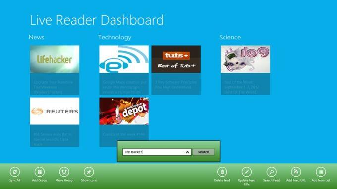 Live Reader for Windows 10