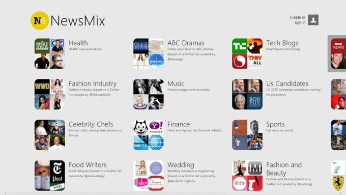 NewsMix for Windows 10
