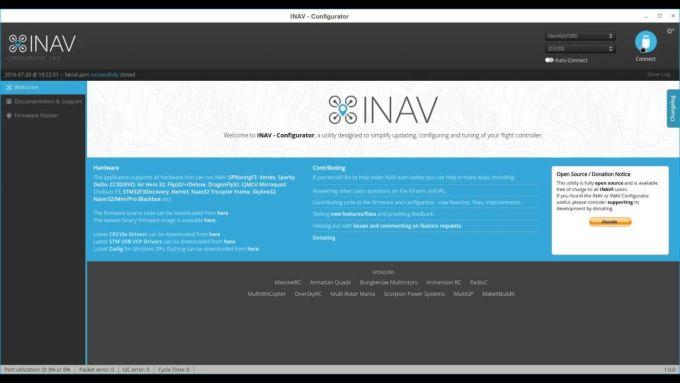 INAV - Configurator