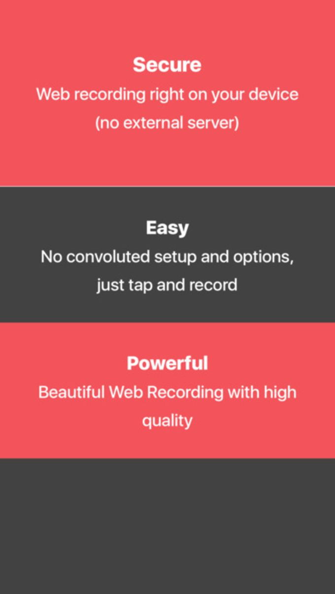 Web Browser Recorder | Record games and websites