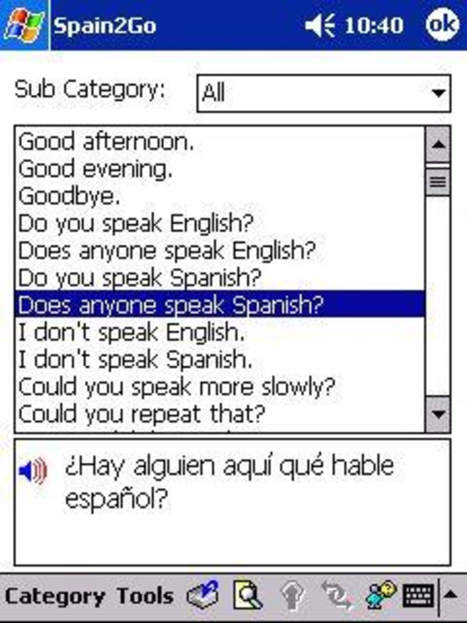 H&H Spain2Go Talking Phrase Book