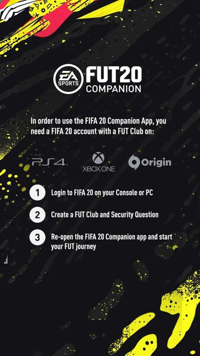 EA SPORTS™ FIFA 20 Companion