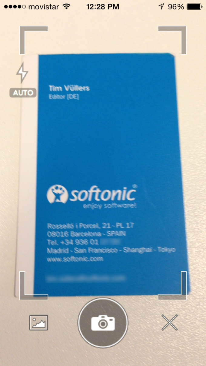Fullcontact Business Card Reader Für Iphone Download
