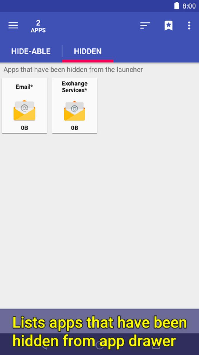 2 Hide Apps - Hide System Apps