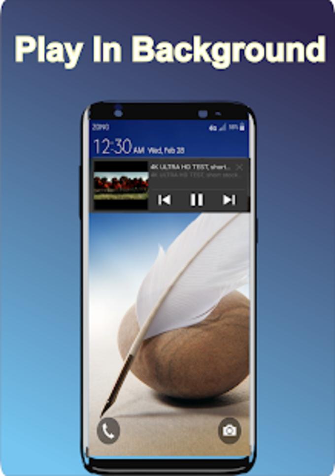 Full Hd Video Player new  Play 4K Video