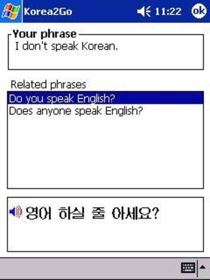 H&H Korea2Go Talking Phrase Book