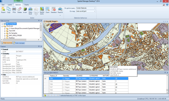 Spatial Manager Desktop