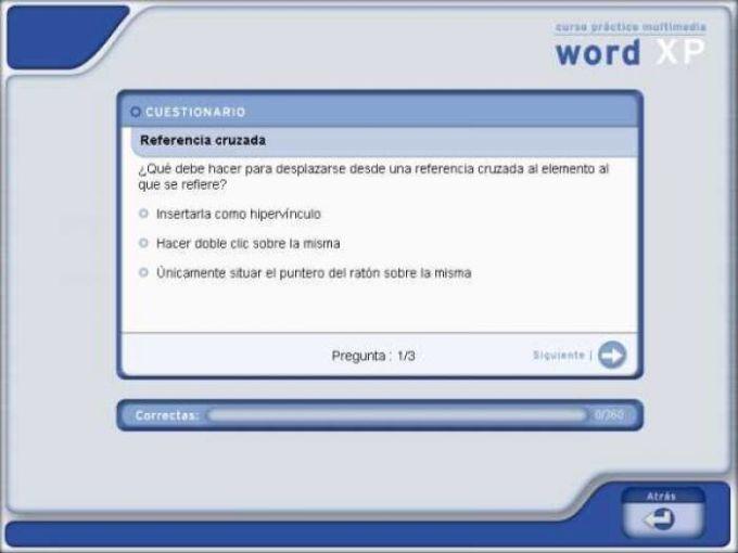 Curso de Word XP Soft Obert