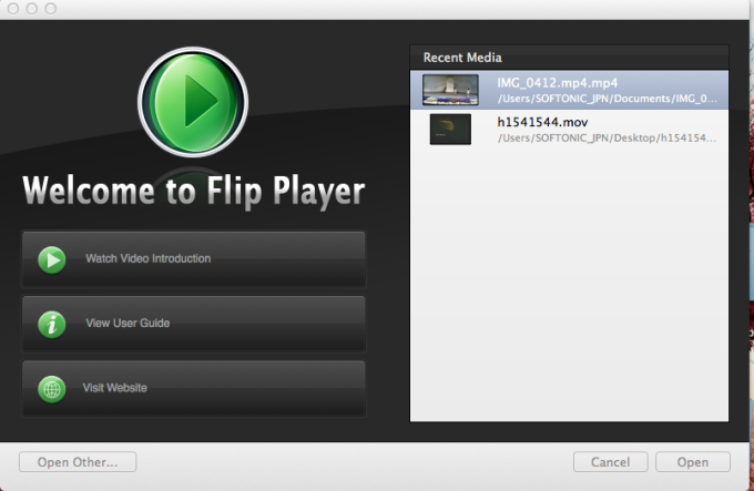 Flip Player