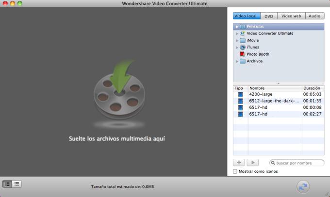 Wondershare Video Converter Ultimate para Mac