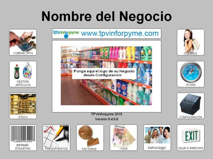 TPVinforpyme gestion Droguerias y Paqueterias