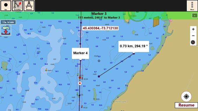 i-Boating: GPS Nautical / Marine Charts - offline sea, lake river navigation maps for fishing, sailing, boating, yachting, diving