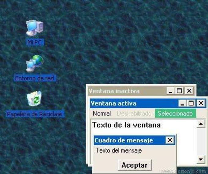 Desktop Theme  XP 2000