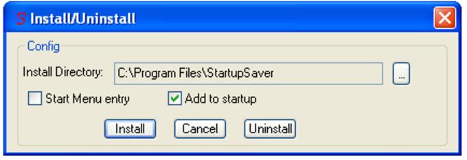 StartupSaver