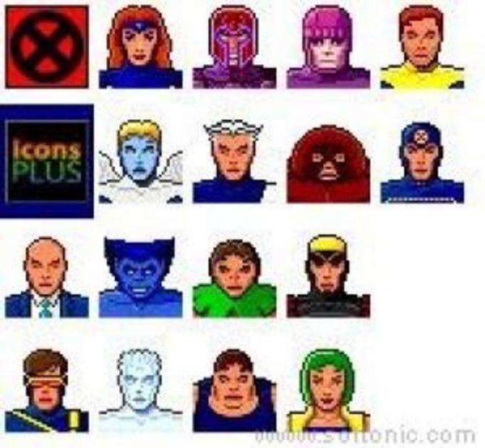 X-men II Icons