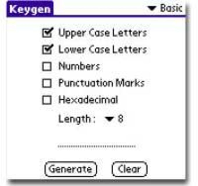 Keygen Password Generator