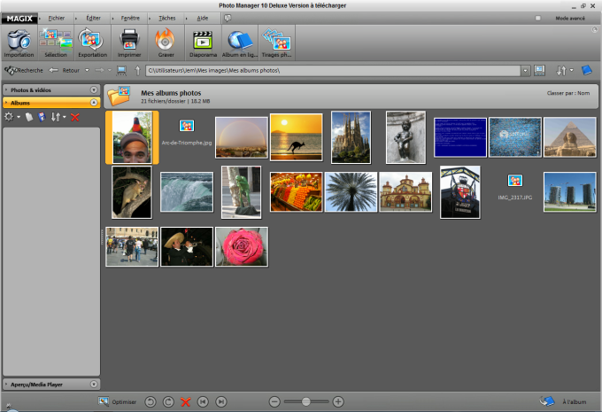 MAGIX Photo Manager deluxe