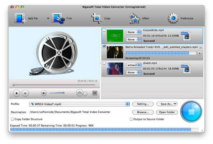 Bigasoft Total Video Converter