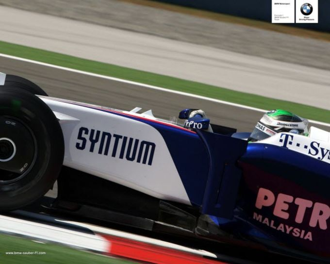 Tapeta BMW Sauber Formuła 1