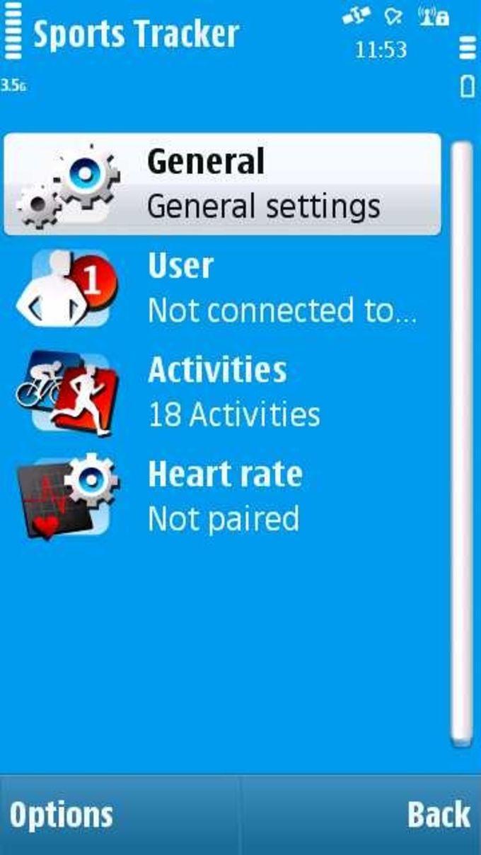 Nokia Sports Tracker