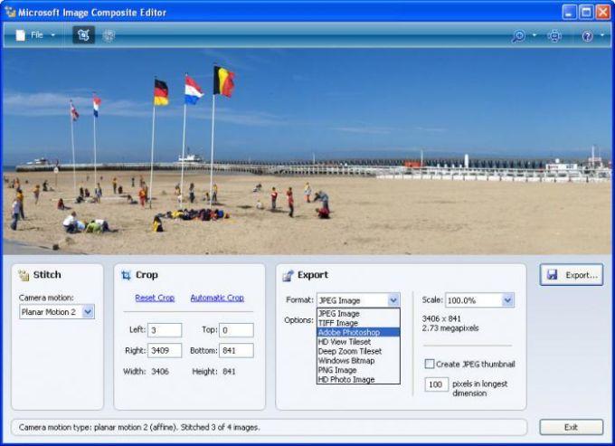Microsoft Image Composite Editor
