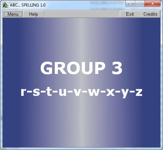 ABC... Spelling