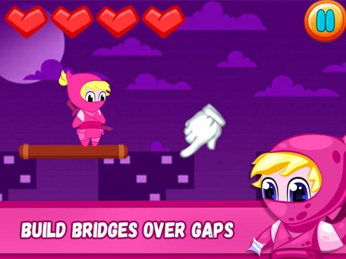 Pink Ninja - Night City Adventure