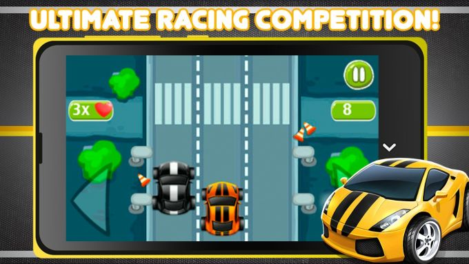 Mini Cars - Drag Racing