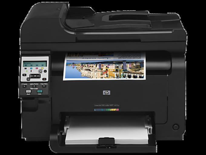 HP LaserJet Pro 100 color MFP M175a drivers