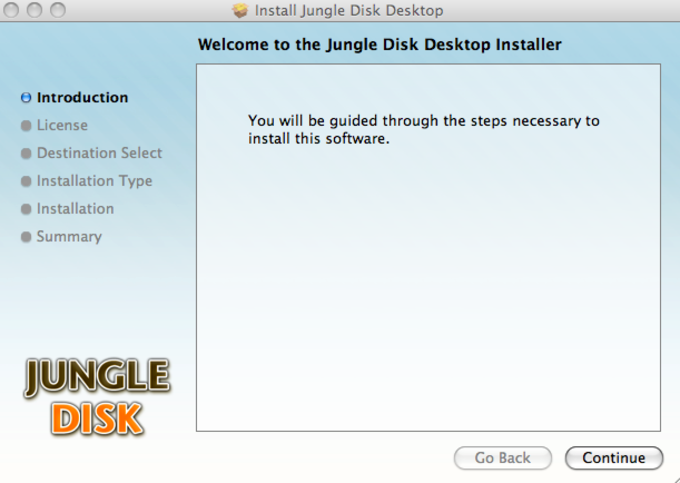 Jungle Disk Desktop
