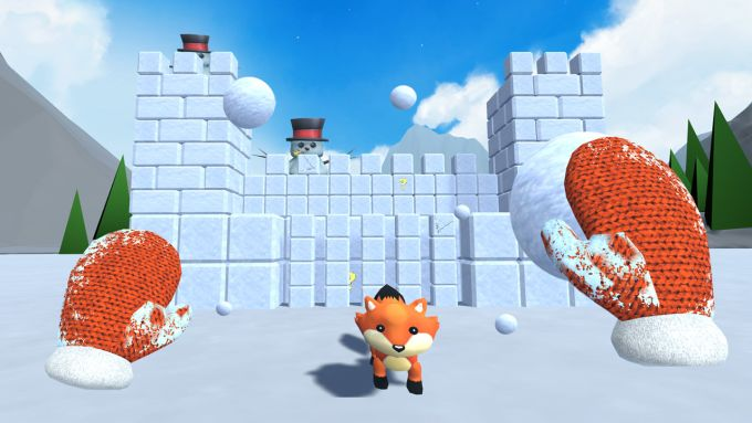 Snow Fortress PS VR PS4