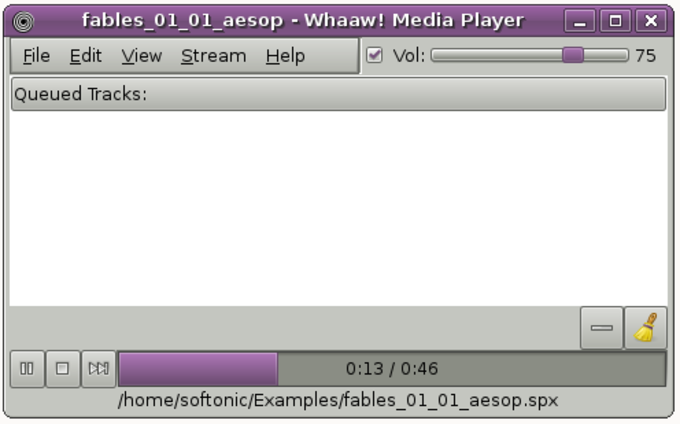 Whaaw Media Player