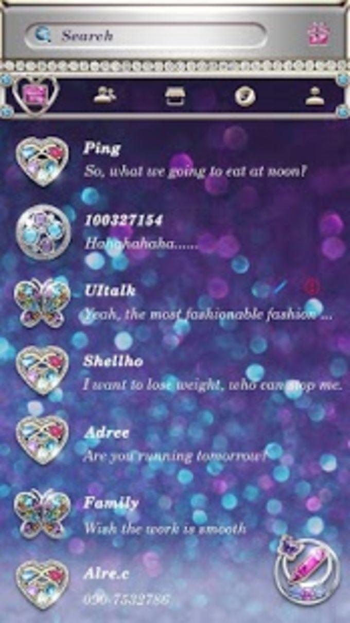 (FREE) GO SMS SPARKLE THEME