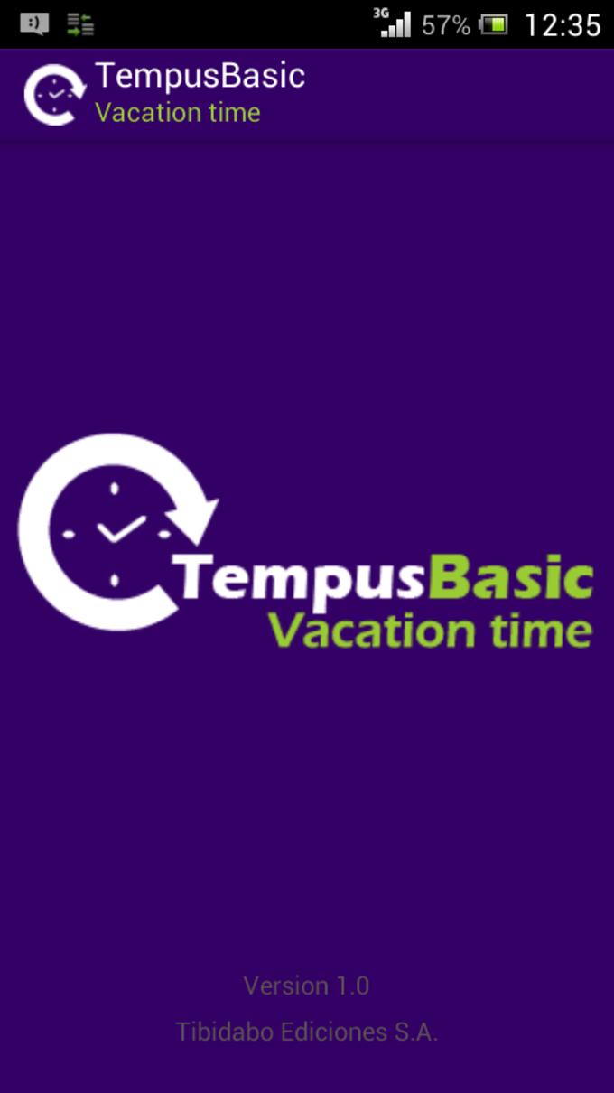 Free TempusBasic: Vacation Time