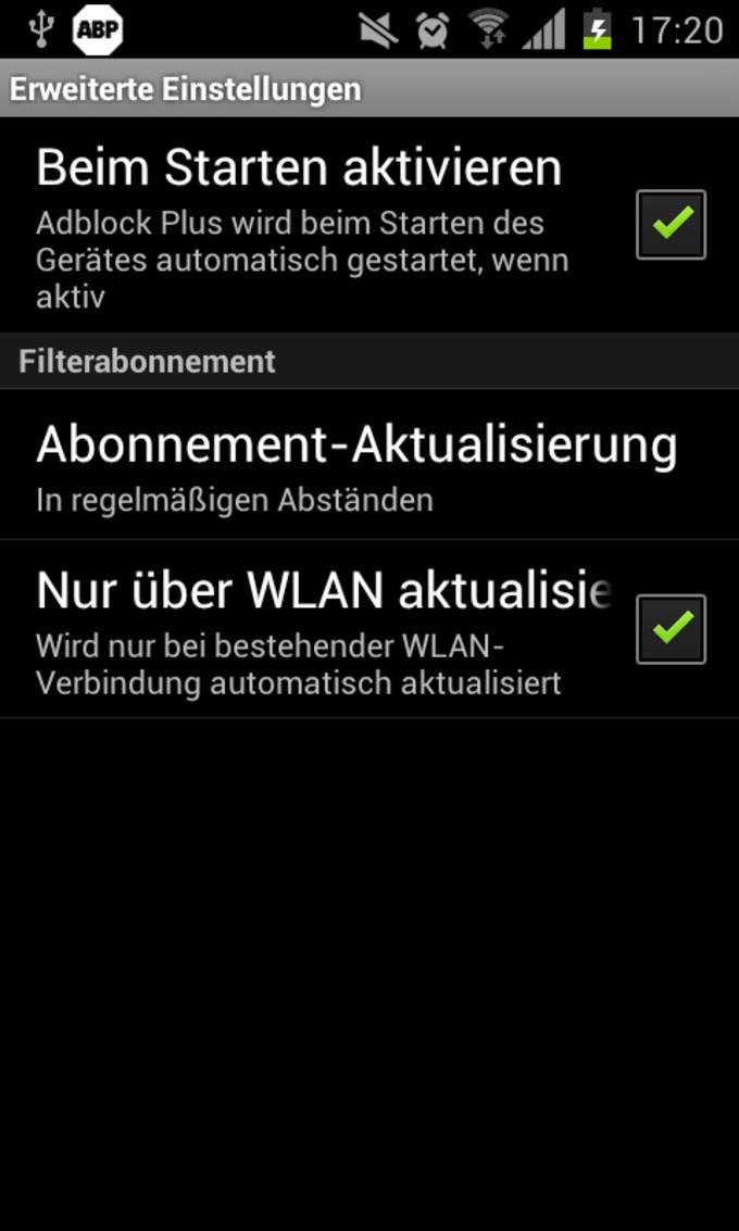 Adblock Plus für Android