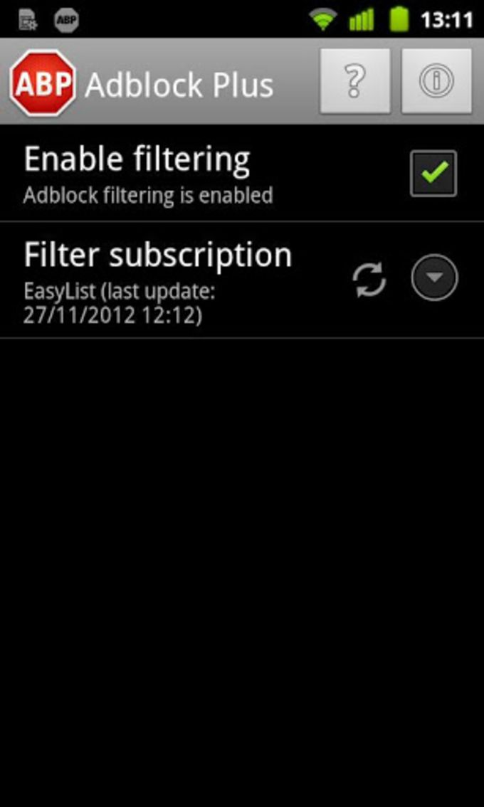 Adblock Plus pour Android