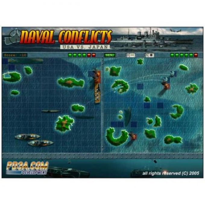 Naval Conflicts: USA Vs Japan