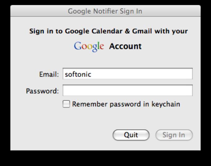 Google Notifier for Mac