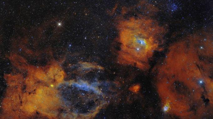 Nebulas in 4K